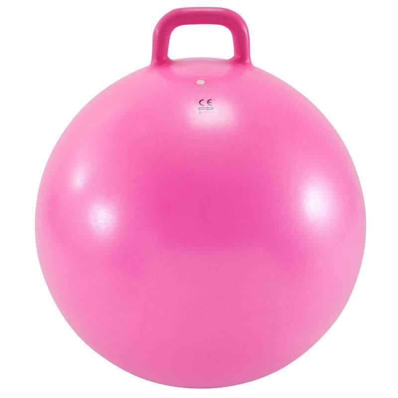 ++ส่งฟรีทั่วไทย++ อุปกรณ์ยิมสำหรับเด็ก ลูกบอลออกกำลังกายแบบมีหูจับสำหรับเด็กรุ่น Resist ขนาด 60 ซม. (สีชมพู) By Daddy.