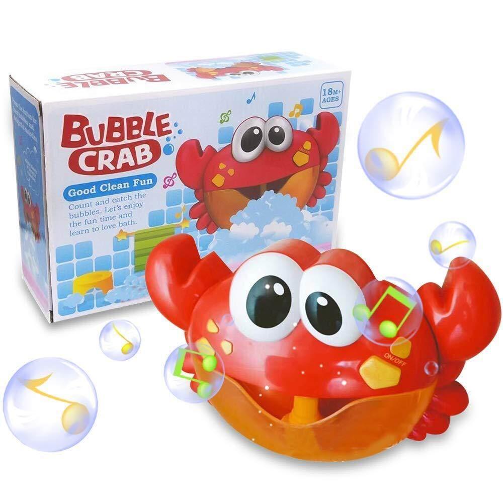 K Toy ปูเป่าฟอง Crab Bubble เครื่องเป่าฟองรูปปู ของเล่นในน้ำ ขนาด 24*7*15.5 By K Toy Club.