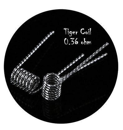 ลวดเอเลี่ยนแท้ 100% Prebuilt Demon Killer Wire ร้อนไว ดำช้า ไม่ขาด ควันหนาตึ๊บ / ลวด Alien Coil / ลวด Clapton Coil By Cusway Online