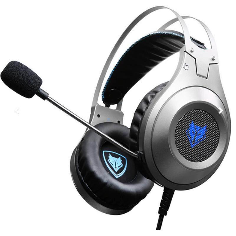 [Wevery] Gaming Headset NUBWO GAMER CRYXIS NO-N2 Silver headphone gaming หูฟังเกมมิ่ง หูฟังครอบหู หูฟังสำหรับคอม หูฟังแบบครอบ ส่ง Kerry เก็บปลายทางได้