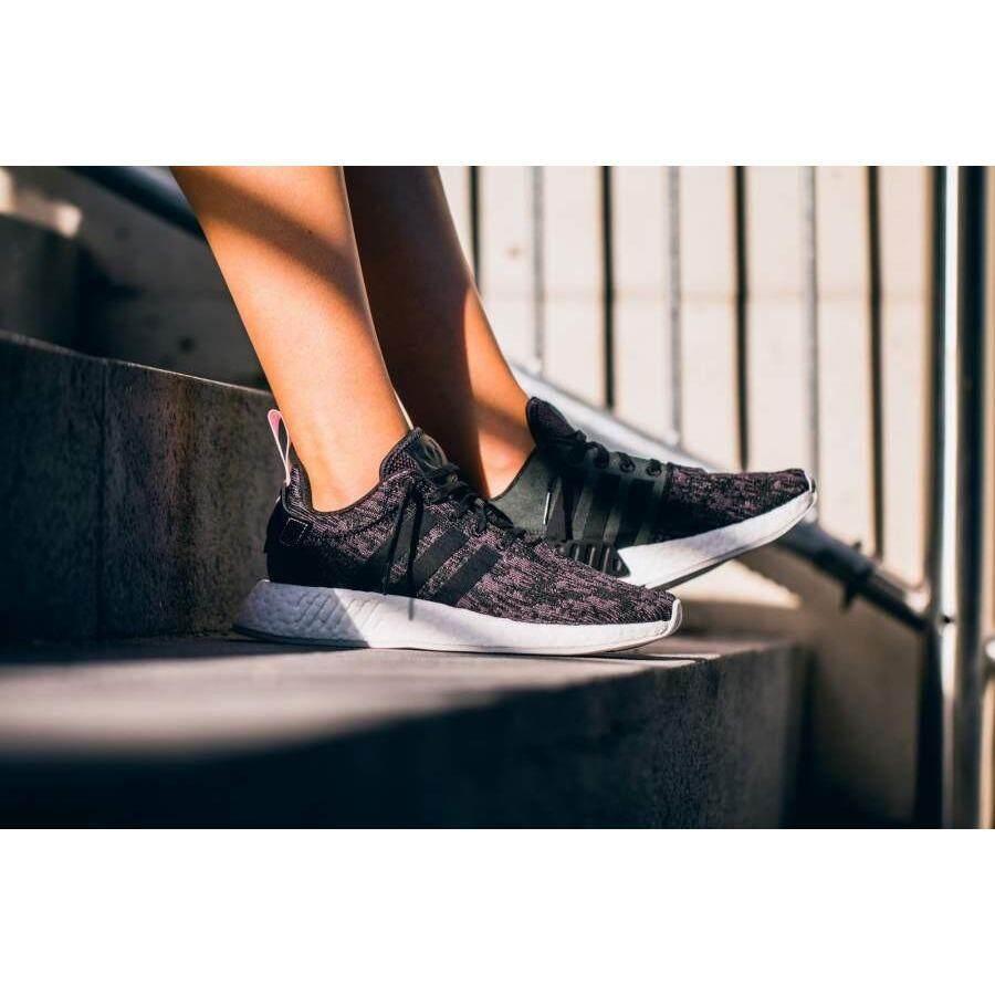 สอนใช้งาน  นครปฐม รองเท้า ADIDAS BY9314 WOMEN ORIGINALS NMD R2 SHOES BLACK WONDER PINK