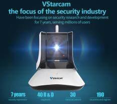กล้องวงจรปิด Vstarcam C21S 1080 จุด Camera WiFi Video Security Two WAY Audio ไนท์วิชั่น IR กระทะเอียงกล้อง IP