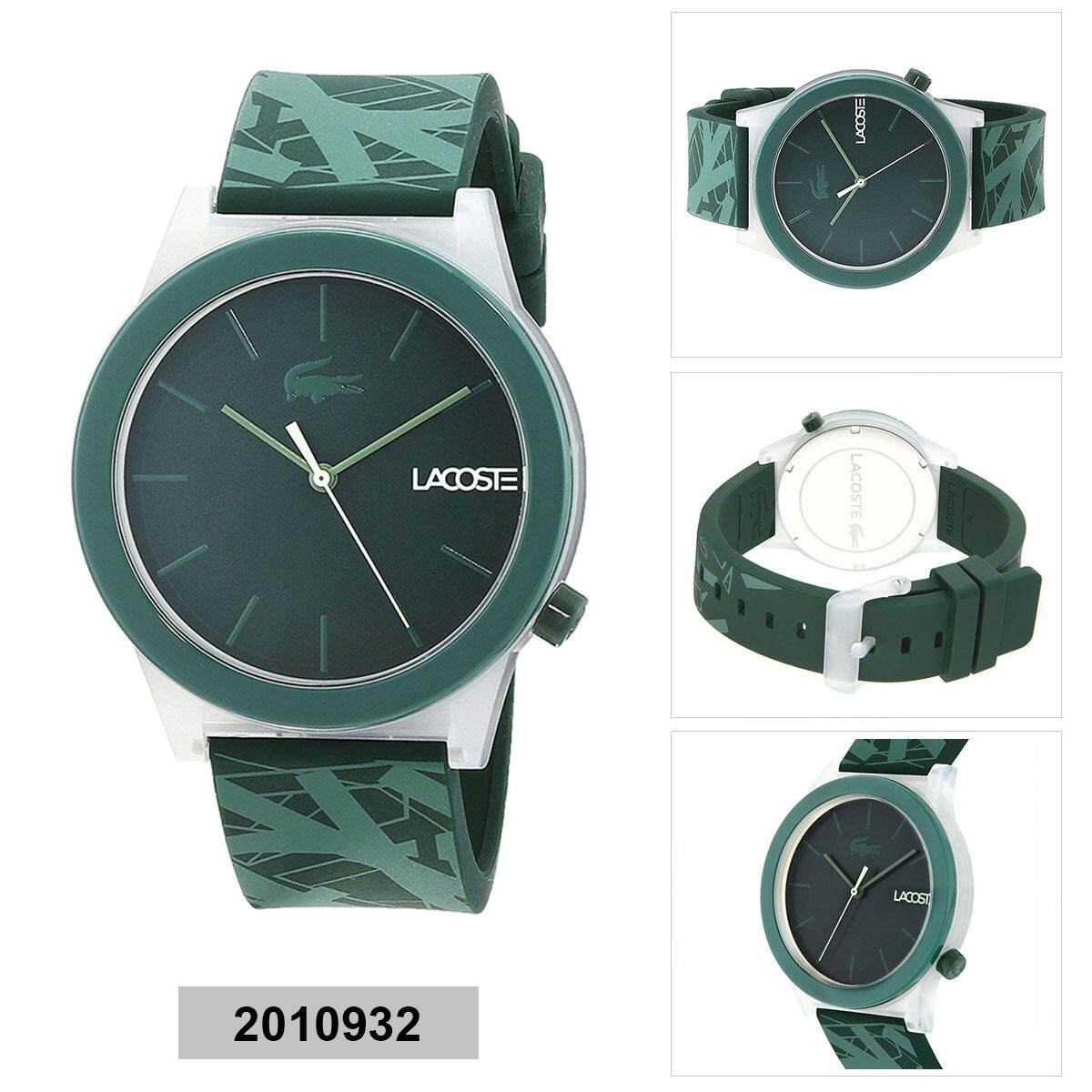 Lacoste KEA Green Stainless-Steel Case Silicone Strap Mens 2010932