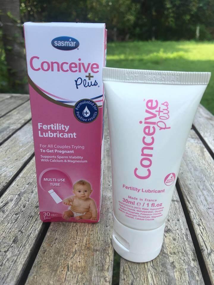Sasmar Conceive Plus, Multi-Use Tube ขนาด 30ml, Fertility Friendly Personal Lubricant เจลหล่อลื่นเพิ่มโอกาสในการตั้งครรภ์ By Ibody Thailand.