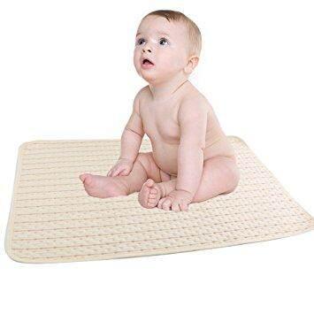 แผ่นรองนอนกันฉี่ รองนอนกันน้ำ Organic ขนาดใหญ่พิเศษ (urine Protection Pad).