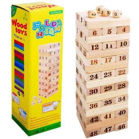 เกมจังก้า ตัวต่อไม้ ตึกถล่ม By Catchashop.