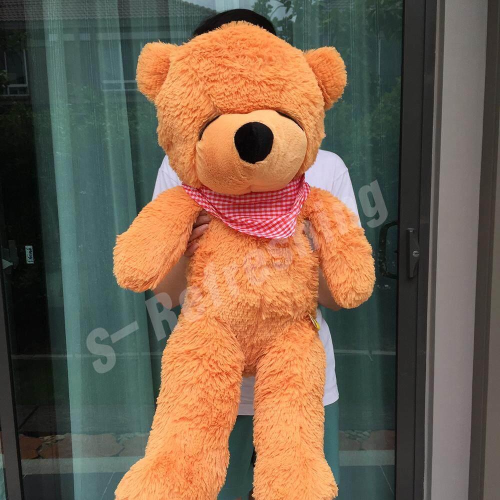 ตุ๊กตาหมี ตุ๊กตาหมีตากลม ตุ๊กตาหมีตาหลับ ขนาด 29 นิ้ว .