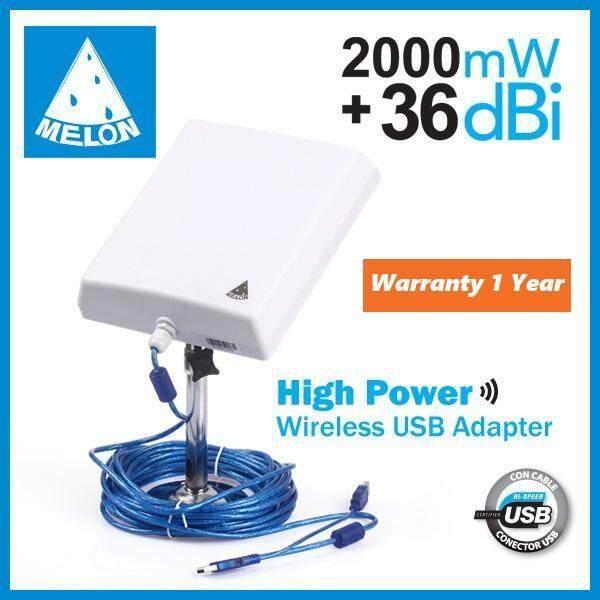 Usb Wifi 150mbps 36dbi 2000mw รับสัญญาณ Wifi แรงสุดๆ ตัวรับสัญญาณ ระยะไกล สุดๆ รับสัญญาณแรงสุดๆ.