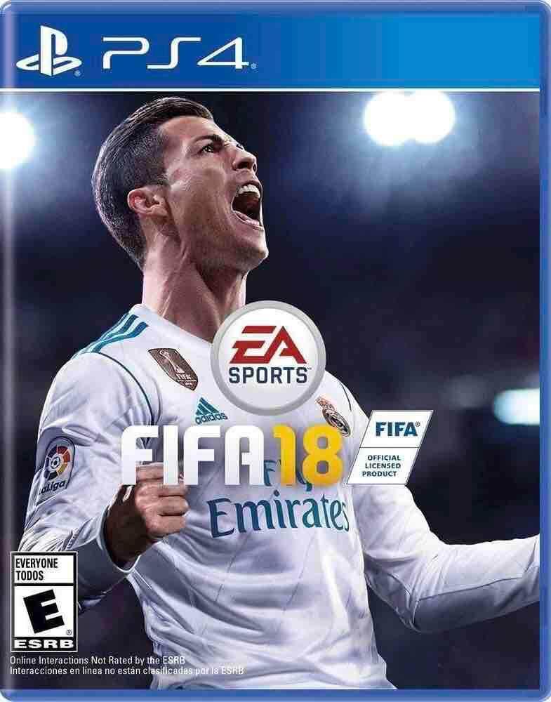 PS4 : FIFA 2018 (Z3)