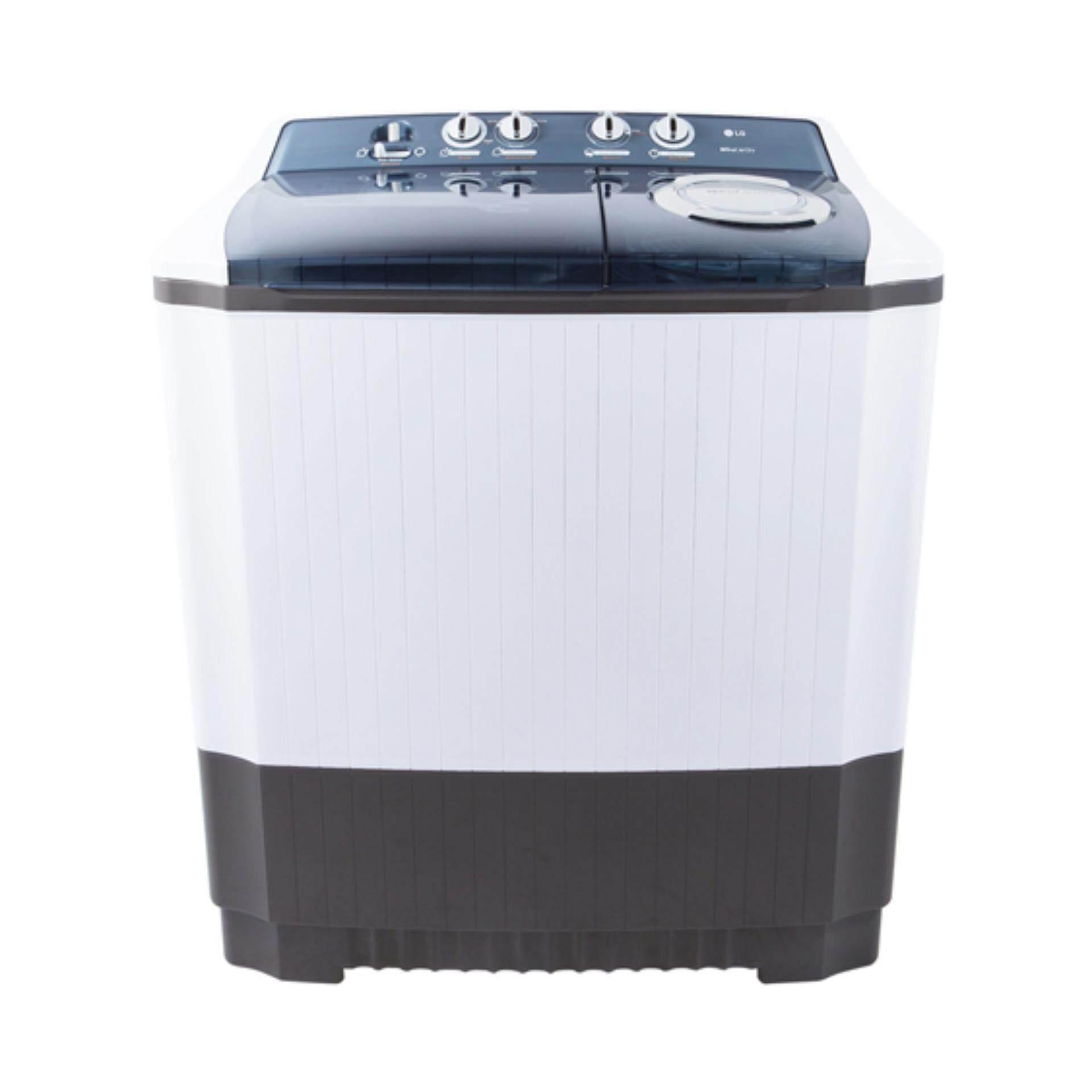 LG เครื่องซักผ้า 2 ถัง WP-1650WST ระบบ Roller Jet Punch + 3 ขนาดซัก 14 KG