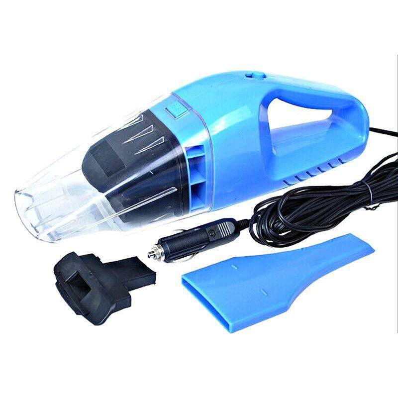 เครื่องดูดฝุ่น ในรถยนต์ 12V 100W ระบบสุญญากาศ แบบพกพา Car Vacuum Cleaner สายไฟยาว 5เมตร เครื่องดูดฝุ่นในรถ CAR and Home USE