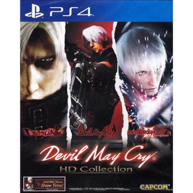 PS4 DEVIL MAY CRY HD COLLECTION (MULTI-LANGUAGE) (ASIA)