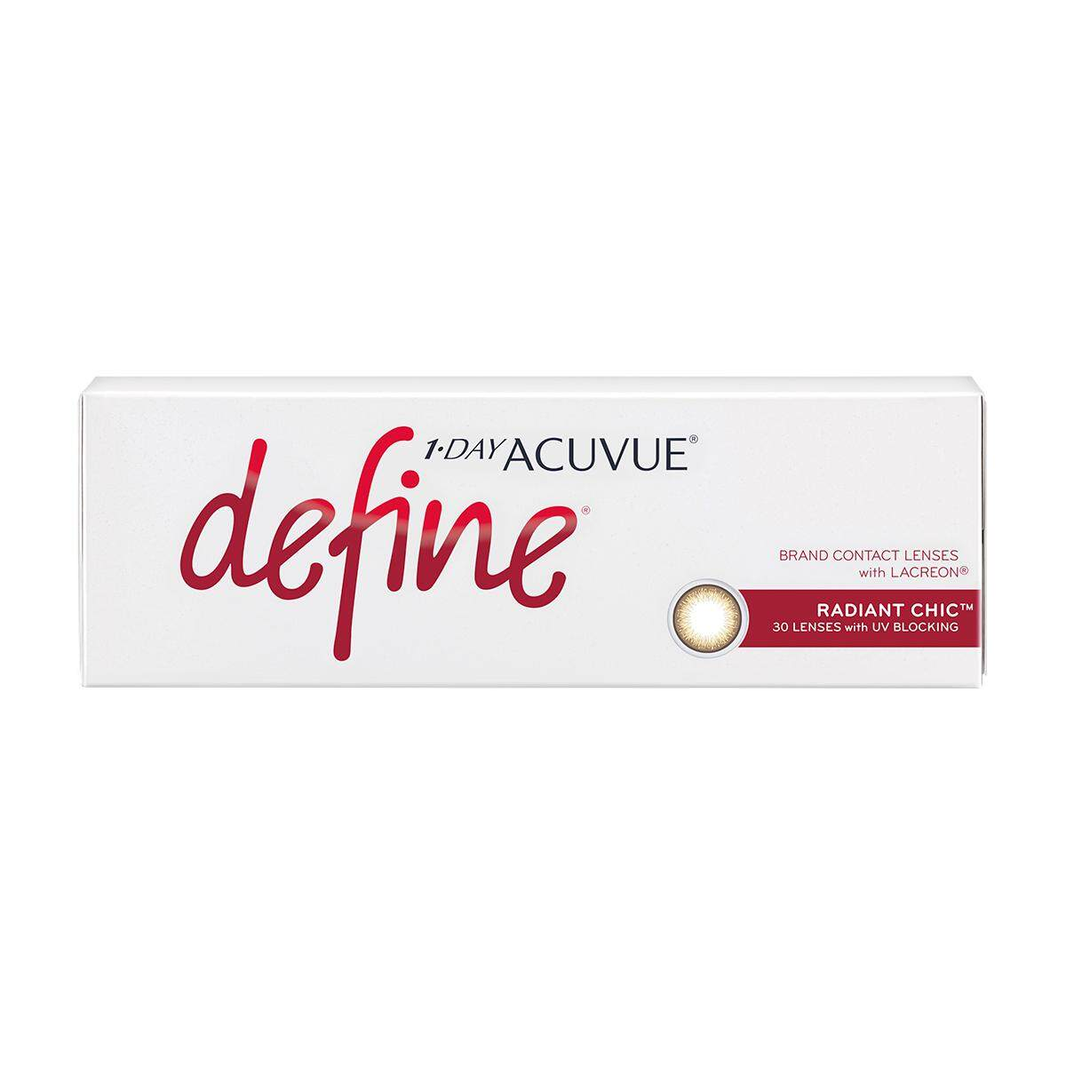 1 Day Acuvue Define Radiant Chic By Tammys Optic.
