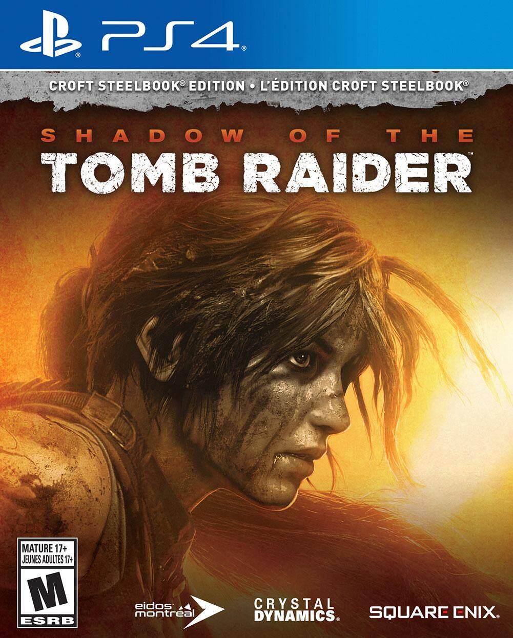 แผ่นเกม PS4 Shadow of the Tomb Raider
