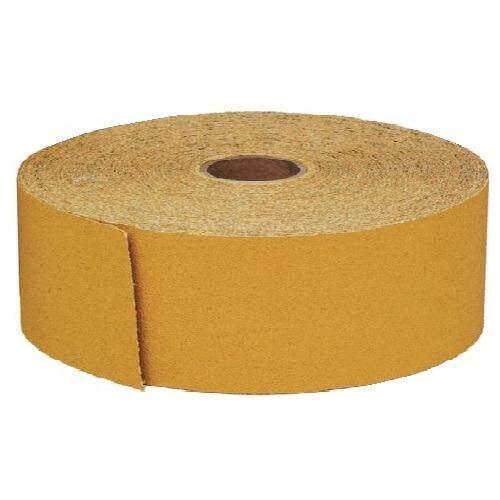 ราคา 3M 236U กระดาษทรายม้วน เบอร์ 80 สีเหลือง หลังสักหลาด ขนาด 70 มิล X ยาว 25 เมตร 3M Hookit Sanding Sheet Roll ราคาถูกที่สุด
