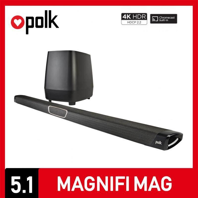ยี่ห้อนี้ดีไหม  ตราด Polk Audio ลำโพงซาวด์บาร์ Soundbar รุ่น MagniFi MAX ระบบเสียง 5.1 ประกันศูนย์