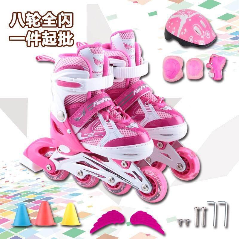 Lee Bicycle รองเท้าสเก็ต โรลเลอร์เบลด Roller Blade Skate ฟรี!! ชุดป้องกัน หมวก มูลค่า 490 บาท.