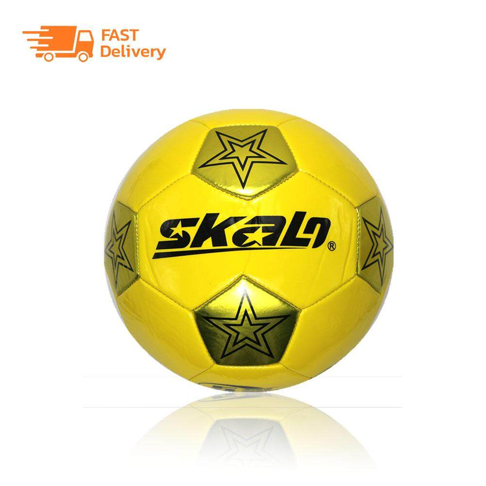 ยี่ห้อนี้ดีไหม  ลูกฟุตบอล ฟุตบอล หนัง football เบอร์ 5 หนังเย็บ PVC รุ่น SKL-078 (เติมลมพร้อมใช้งาน)