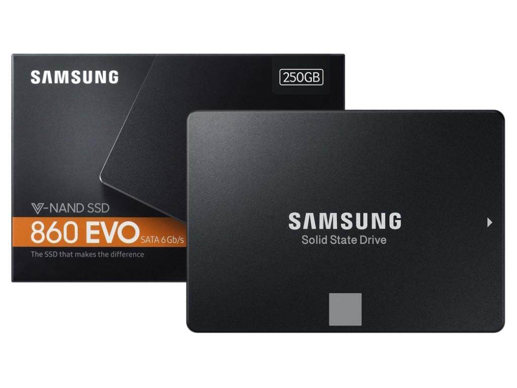Samsung V-Nand 860 Evo 250gb Ssd 2.5 Sata 6gb/s - 5y By Samsung Th By Mycom Seacon.