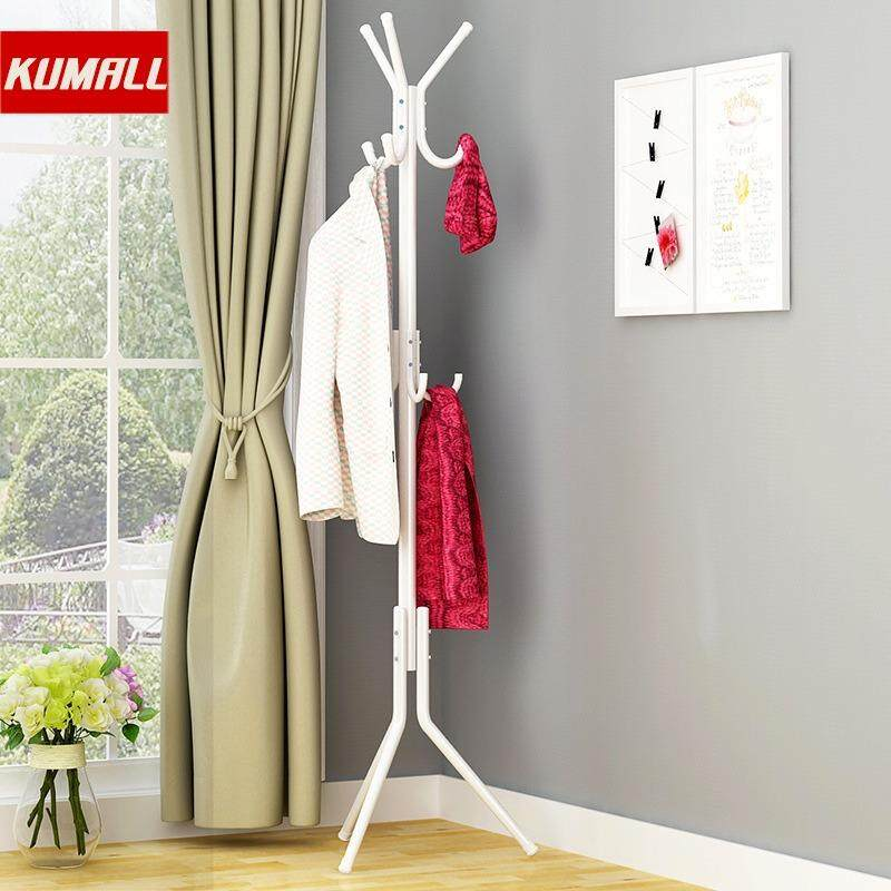 Kumall ที่แขวนหมวกและเสื้อ ที่แขวนเสื้อผ้า ราวตากผ้า โค๊ท 3ชั้น Coatrack By Kumall.