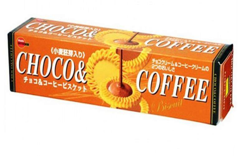 Choco&coffee Biscuit Bourbon เบอร์บอน ช็อคโก แอนด์ คอฟฟี่ บิสกิตช๊อคโกแลตสุดอร่อย ( ขนาด 1 กล่อง).