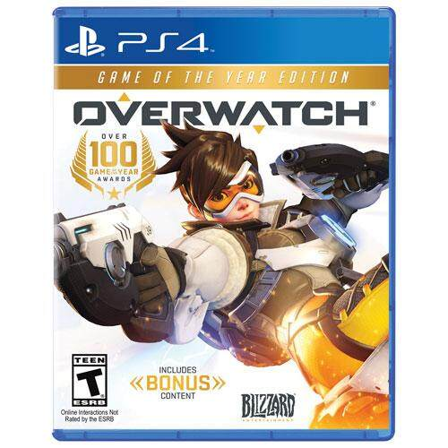 ps4 overwatch  game of the year ( english zone 1 )