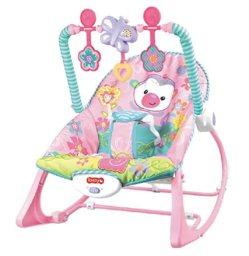 เปลโยก เก้าอี้โยก สั่นได้ มีเสียงเพลง ibaby Infant-to-toddler Rocker