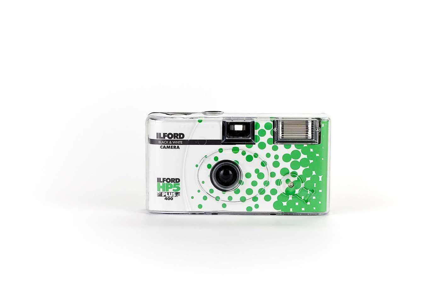 กล้องฟิล์มขาวดำ Single Use Camera Ilford Hp5 Xp2 400 35มม. 27exp กล้องใช้แล้วทิ้ง 35mm Film By Bkkfilm88.