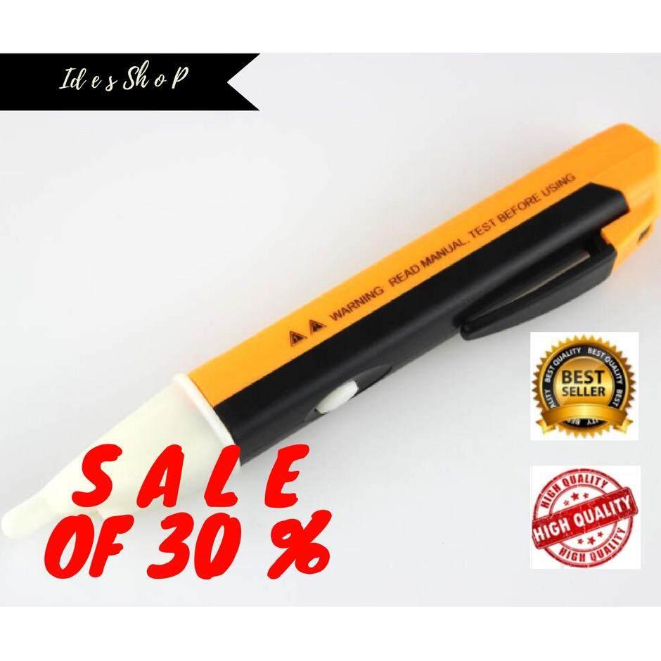 ปากกาวัดไฟ แบบไม่สัมผัส ปากกาเช็คไฟ ปากกาวัดแรงดันไฟฟ้า ปากกาตรวจจับไฟ ตัววัดไฟ อุปกรณ์วัดไฟฟ้า ถูก