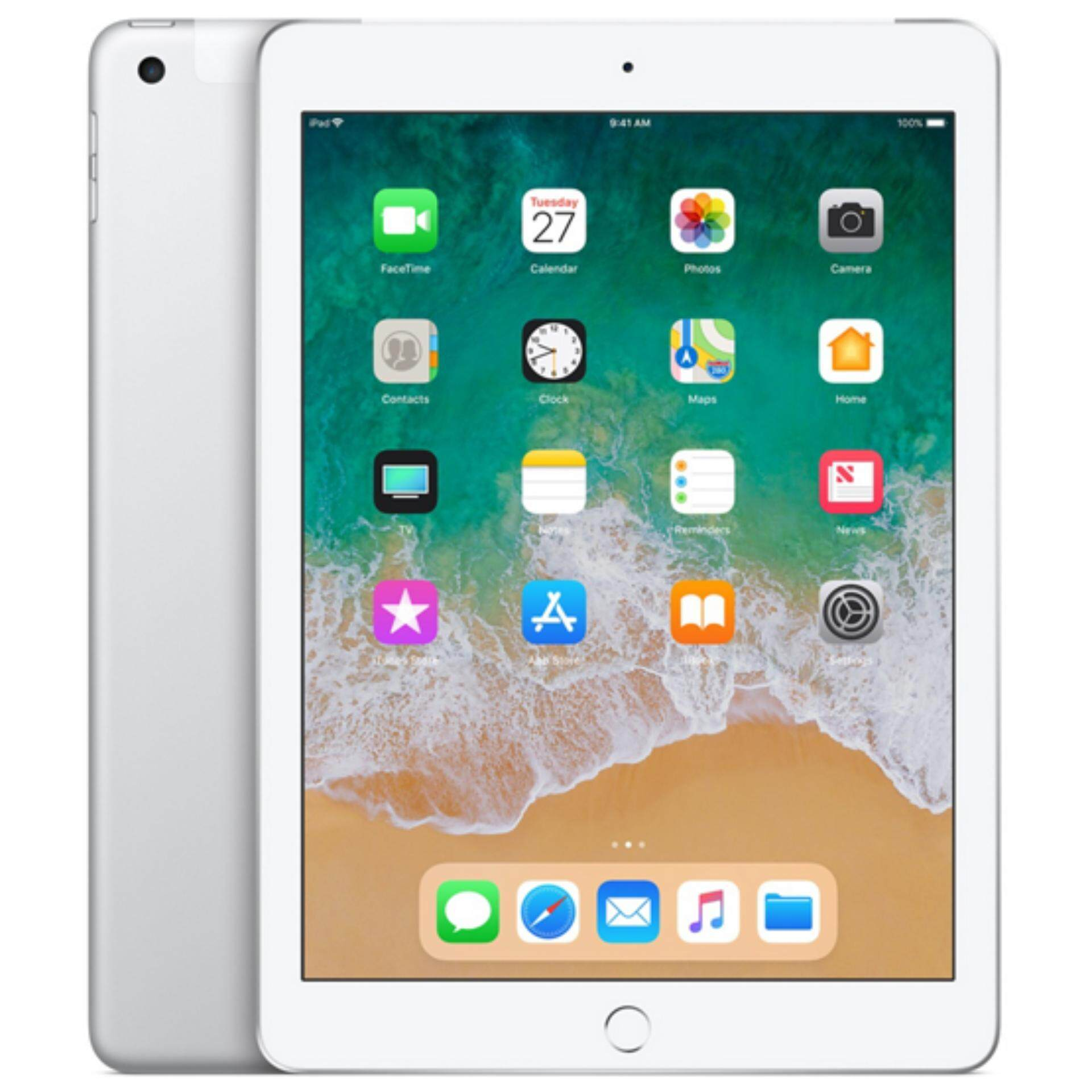 Apple Ipad 9.7-Inch With Wifi, 128gb (2018 Model) By Lazada Retail Apple.