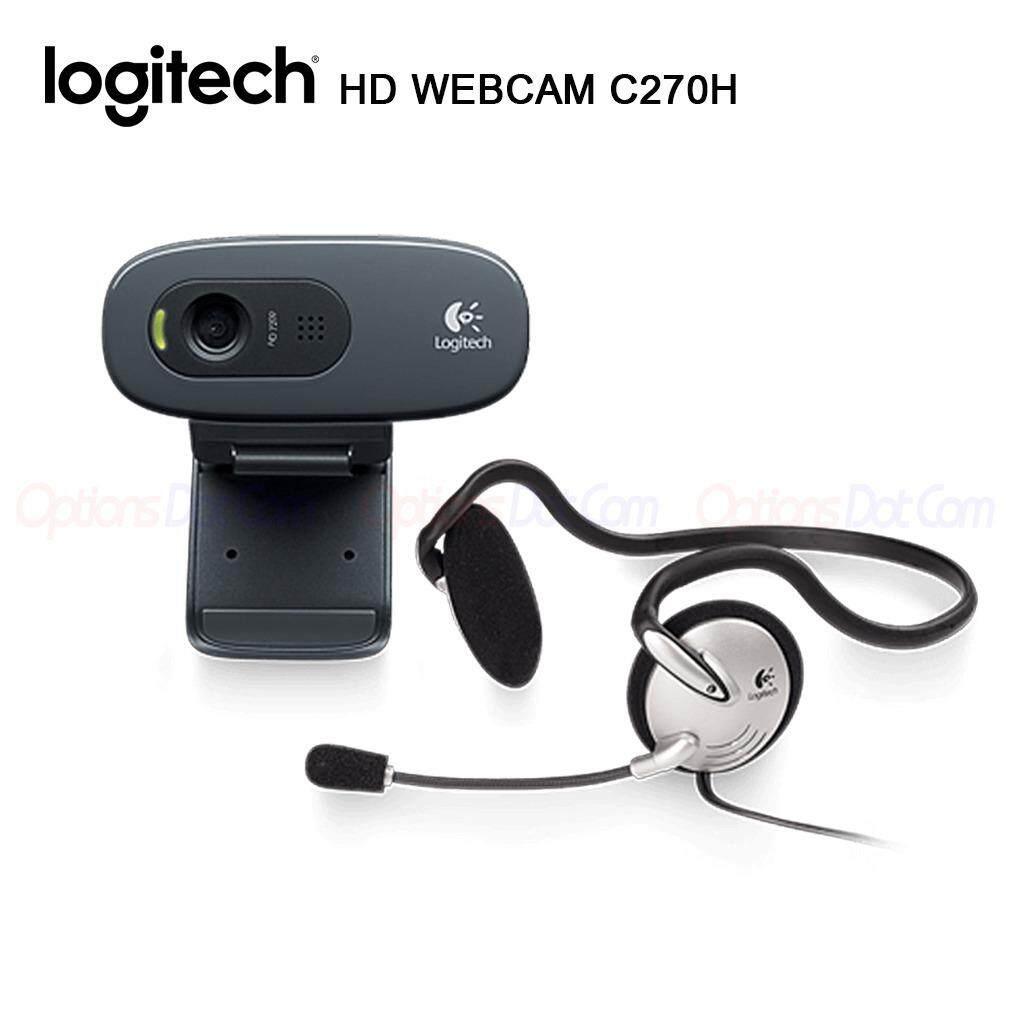 ขาย Logitech Hd Webcam รุ่น C270H ใหม่