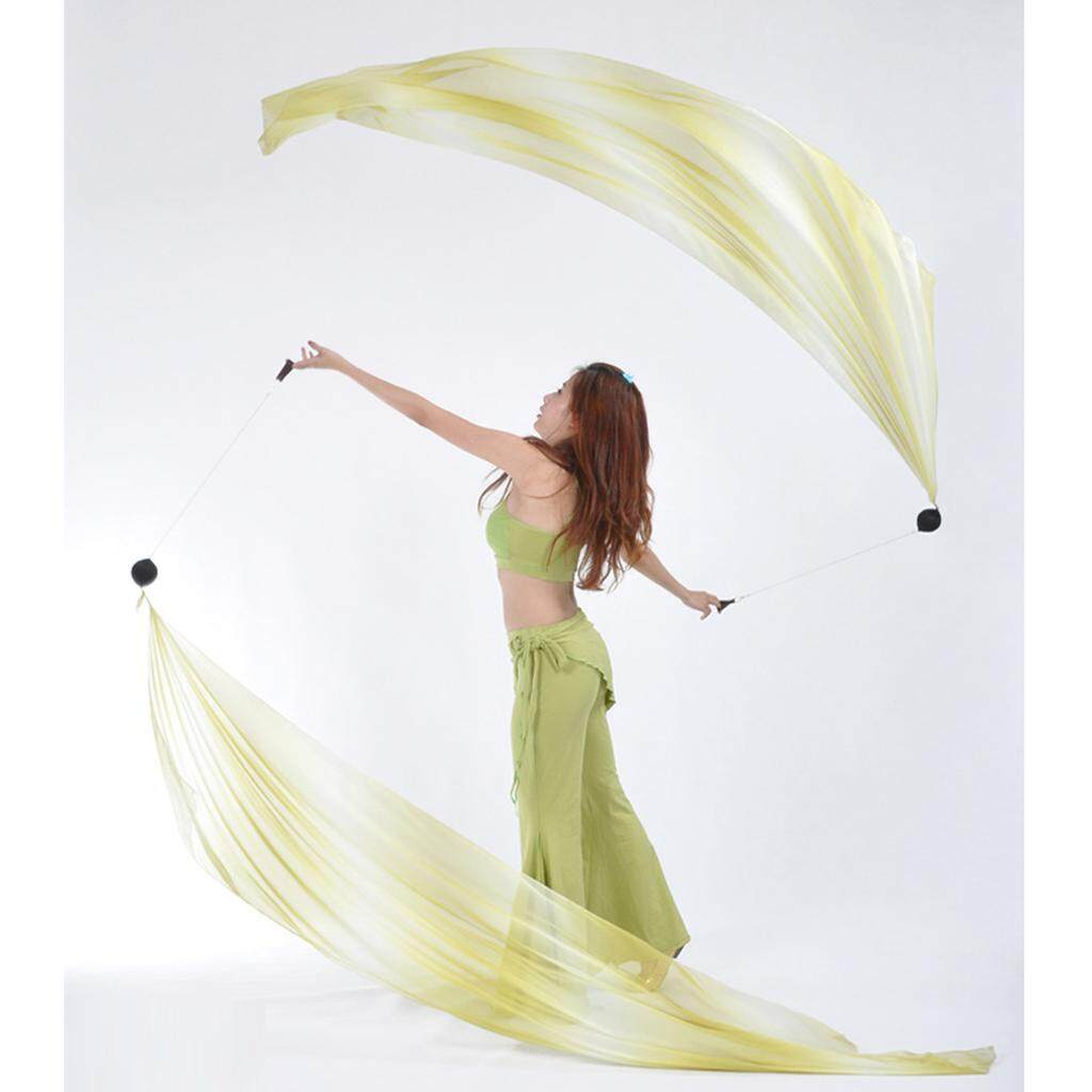 Finger Play Belly Dance Helpers Thrown Poi Balls with Adjustable Balls Chain