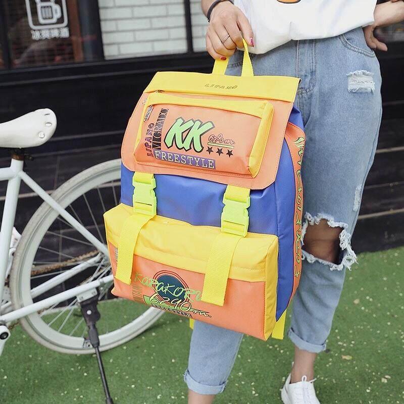 ปัตตานี กระเป๋าเป้ KK backpack ใบใหญ่สุดคุ้มบรรจุได้เยอะไม่ผิดหวังแน่นอน B421