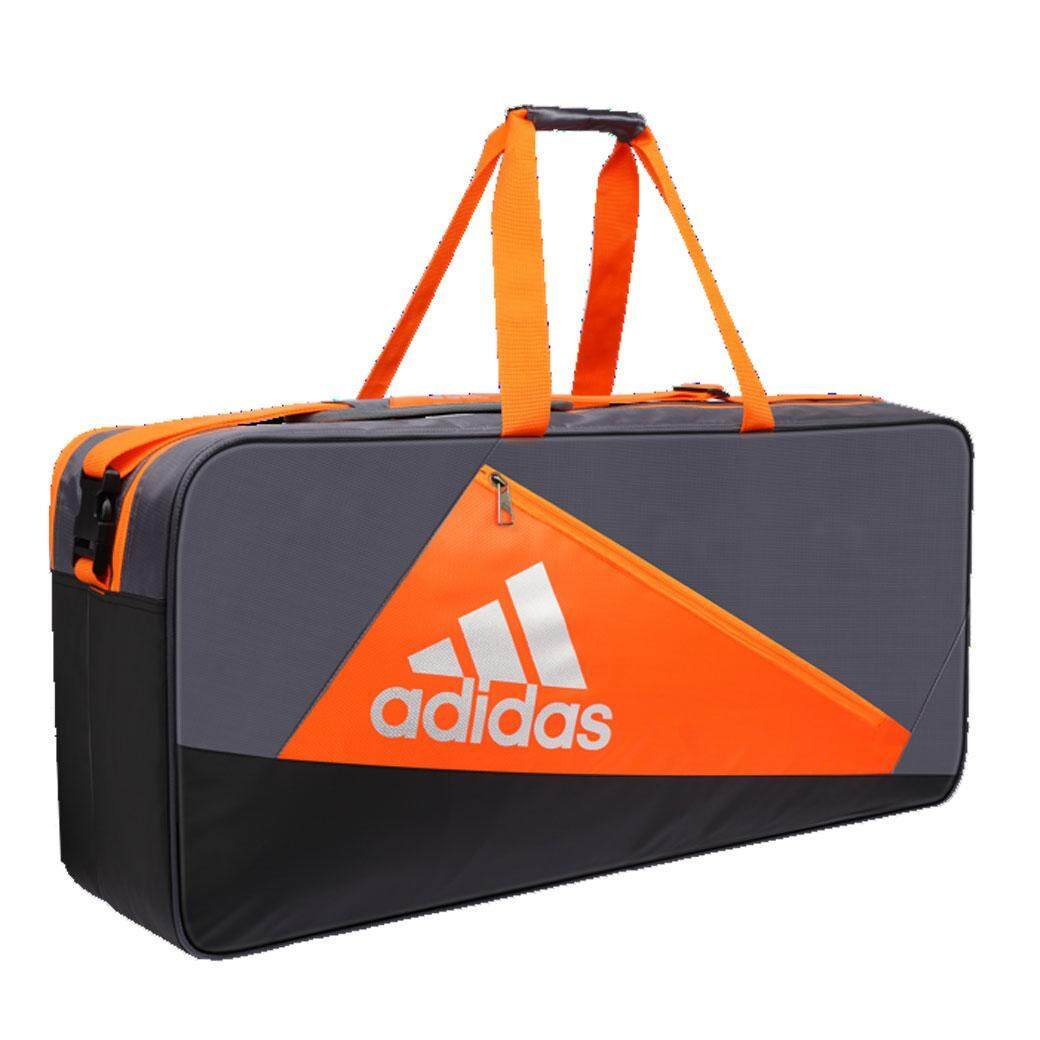 ADIDAS กระเป๋าแบดมินตัน WUCHT P5 TOURNAMENT THERMO BAG (สีเทา/สีส้ม)