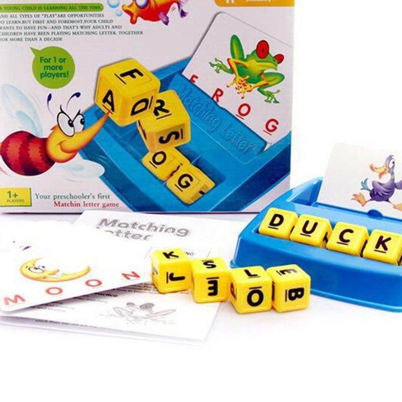 Kts Toys เกมจับคู่ภาพภาษาอังกฤษลูกเต๋า Matching Letters By Kts Playground.