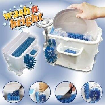 เครื่องล้างจาน ล้างชาม ล้างแก้ว ราคาประหยัด สะดวก ปลอดภัย ไม่ใช้ไฟฟ้า [wash N Bright] By Siamit.