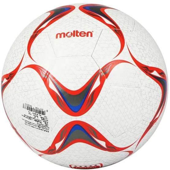 สอนใช้งาน  MOLTEN ฟุตบอล หนัง Football PVC F5VCL-CLW3 (395) เบอร์ 5 แถมฟรี ตาข่ายใส่ลูกฟุตบอล + เข็มสูบลม