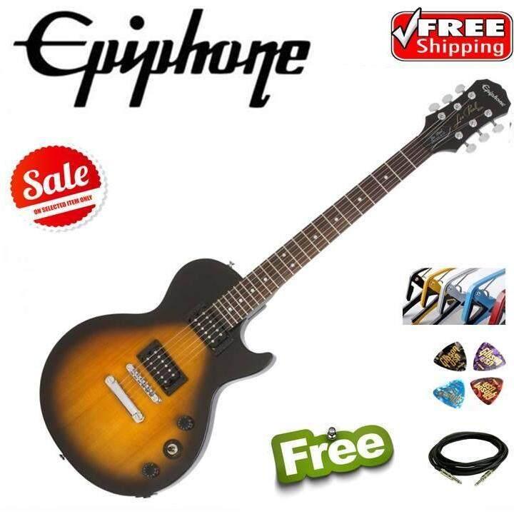 ขายดีมาก! Epiphone Les Paul Special VE กีต้าร์ทรง Les Paul สีซันเบิส แถมฟรี สายแจ็ค ปิ๊กกีต้าร์ และคาโป้ ราคาพิเศษ ( ฟรีค่าจัดส่งถึงบ้าน Kerry)