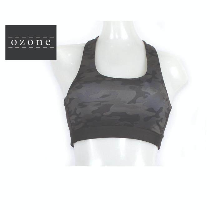 Ozone ชุดออกกำลังกาย เล่นโยคะ สปอร์ตบรา สายไขว้ แนบกระชับ รับสัดส่วน เป็นต้นฉบับ