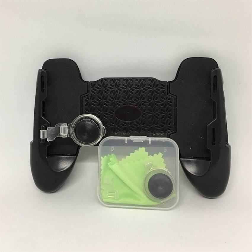 KSC Joypad K2 จอยถือด้ามจับเล่นเกมสำหรับมือถือ พร้อมจอย ROV (Black/สีดำ)