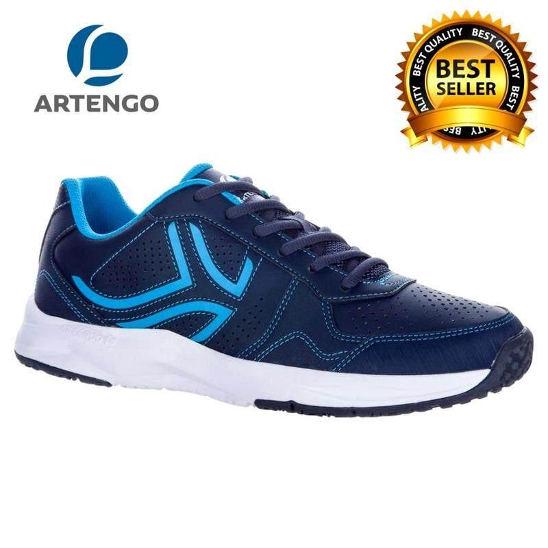 Artengo รุ่น Ts830 รองเท้าเทนนิส รองเท้ากีฬา สำหรับผู้ชาย (สีกรมท่า)สำหรับนักเทนนิสเพื่อช่วยปกป้องข้อต่อของคุณได้ น้ำหนักเบาและยืดหยุ่น ให้ความสบายและความสนุกสนานขณะเล่นในสนาม.