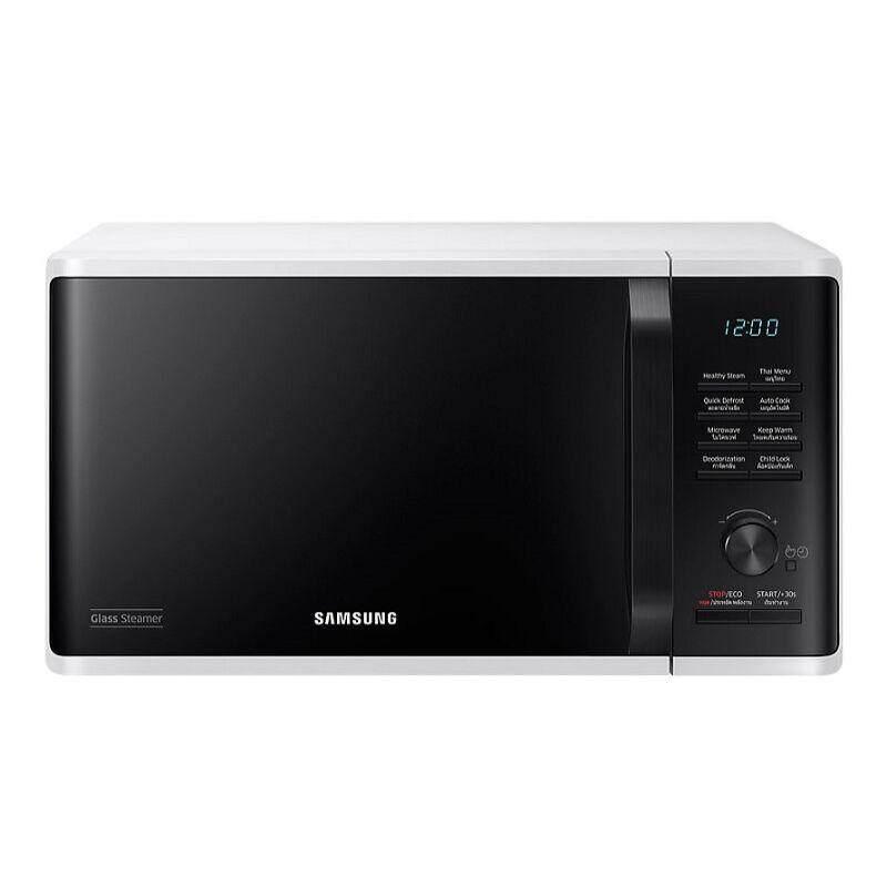 Samsung เตาอบไมโครเวฟ อุ่นและนึ่ง รุ่น Ms23k3555ew/st ความจุ 23 ลิตร By Benjamin Shop.