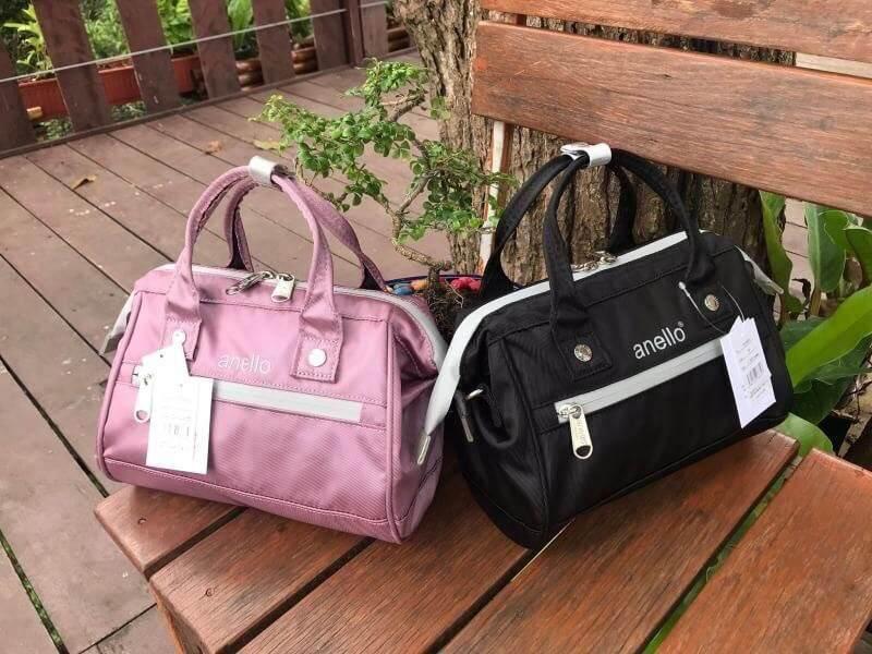 สอนใช้งาน  สระบุรี Anello  Repellency Edition2  Mini Shoulder Bag