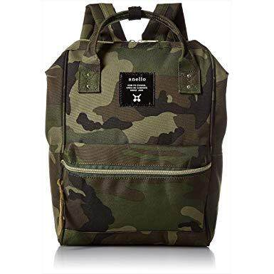 การใช้งาน  สุราษฎร์ธานี Anello canvas Backpack Mini #Camo สินค้าแท้จากญี่ปุ่น