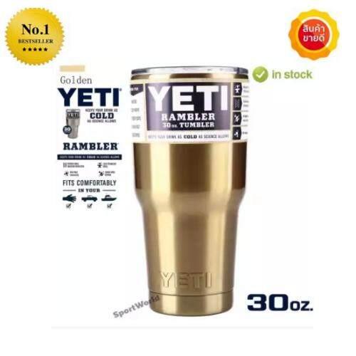 ขาย ซื้อ ออนไลน์ Yeti Stainless Steel Insulation Cups Cars Beer Mug Large Capacity Mug 30 Oz Intl