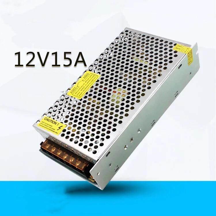 กล่องรวมไฟ Cctv (แบบรังผึ้ง) 7 ช่อง 12v 15a 180 Watt สำหรับกล้องวงจรปิด และไฟ Led ไม่ต้องใช้ อแดปเตอร์ Switching Power Supply.