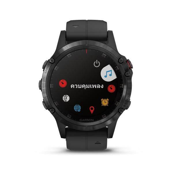 ยี่ห้อไหนดี  ลำปาง Garmin Fenix 5 Plus นาฬิกา Multisport GPS พร้อมแผนที่  เพลง  เมตริกและอื่น ๆ