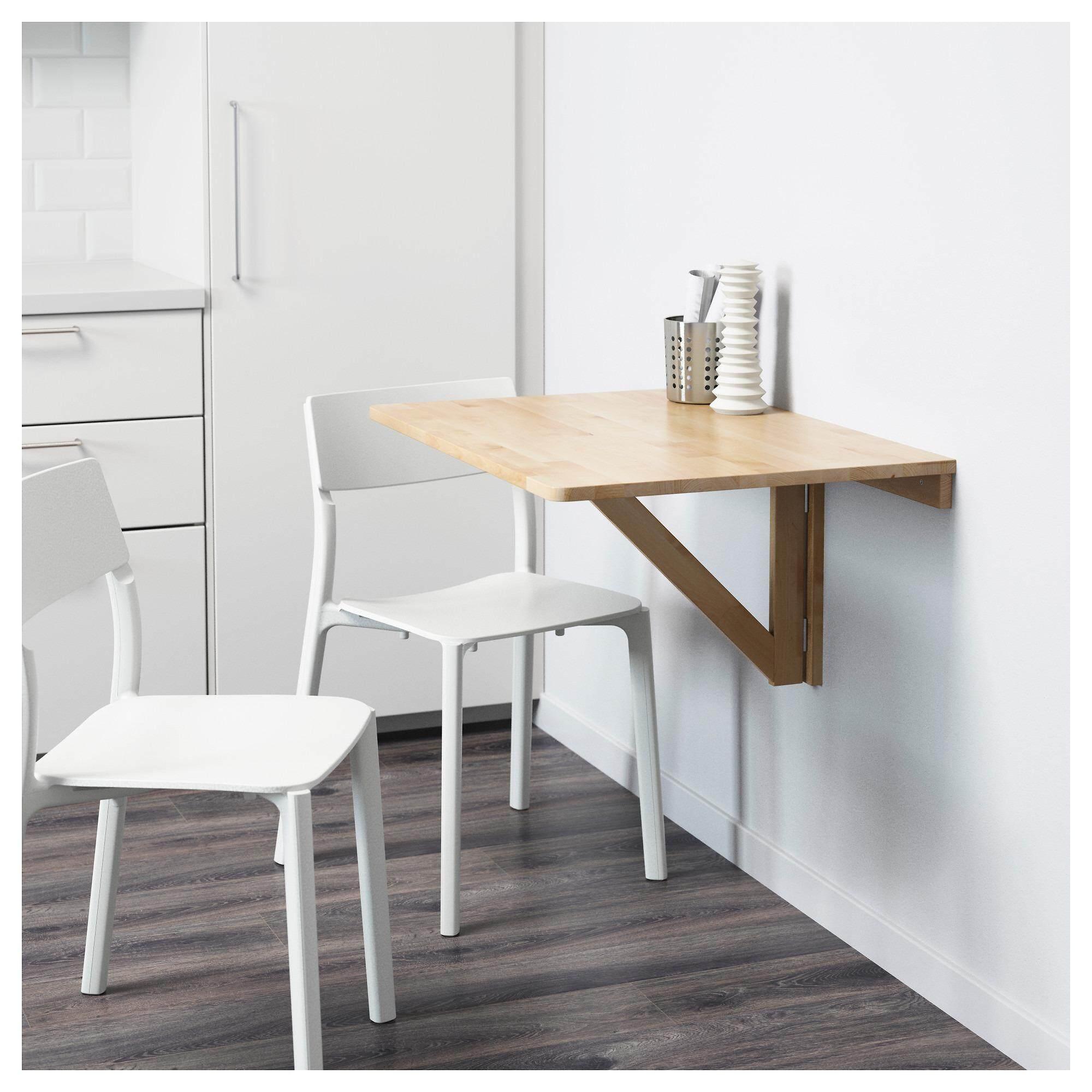 โต๊ะพับ แบบยึดผนัง แข็งแรง ประหยัดพื้นที่ รุ่น นูร์บู By Kaewroon.jan.