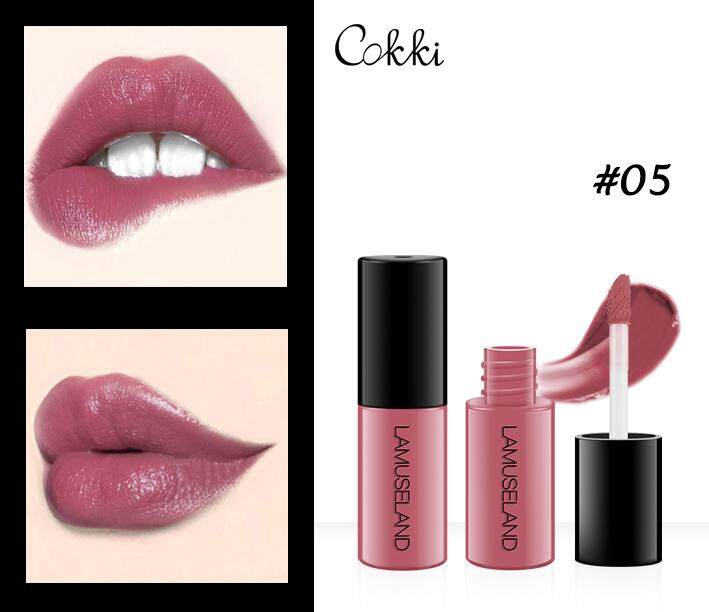 Lamuseland L18l11 ลิปกลอสเคลือบริมฝีปาก สีมินิ ติดทนนาน กันน้ำ ไม่ติดถ้วย หนึ่งกล่องสามแท่ง Moisturizing Waterproof Long-Lasting Matte Non-Stick Cup Mini Liquid Lipstick Easy To Carry 12 Colors Lip Gloss 3.5g Lip Makeup Brand-Cokkicosmtic By Cokkicosmetic.