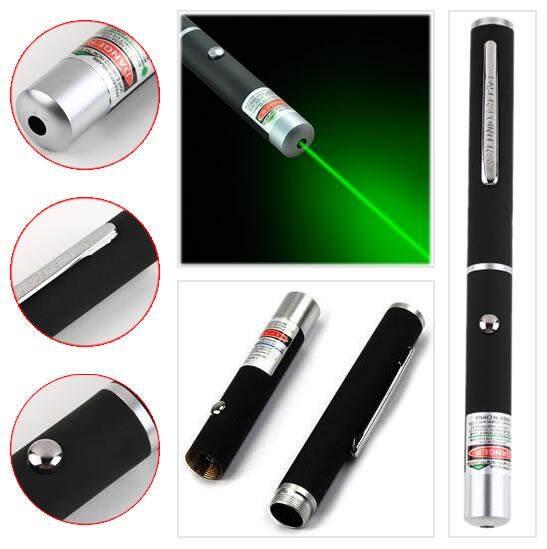 Laser Pointer ปากกาเลเซอร์ แสงสีเขียว 5mw.